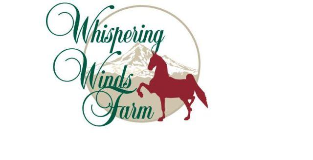 whispering winds farm logo